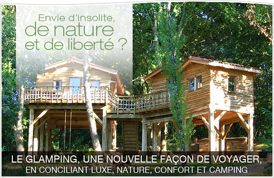 Campings de luxe 4 et 5 �toiles, guide du glamping de luxe insolite Made in France